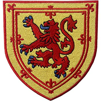 LOT of 2 ENGLAND FLAG PATCH EMBROIDERED IRON-ON ST GEORGE ROYAL COAT ARMS SHIELD