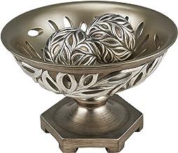 "OK Lighting 8.75""H Kiara Decorative Bowl With Spheres"