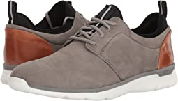 Gray Waterproof Tumbled Nubuck
