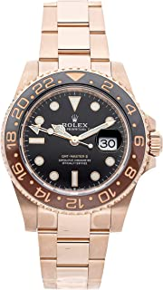 Rolex GMT Master II Mechanical (Automatic) Black Dial Mens Watch 126715CHNR (Certified Pre-Owned)