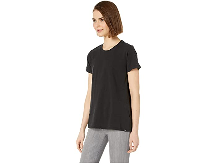 Hurley Womens Solid Perfect Crew T-Shirt Short Sleeve