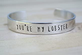 You're My Lobster Bracelet, Best Friend Gift, Girlfriend Gift