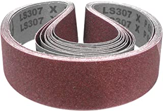 10 x KLINGSPOR Abrasive Band ls307x for METABO BS 175 BS 200 GRIT CHOICE