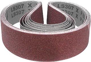 au choix Klingspor CS 411 X Ruban abrasif 25 x 762 mm 10 pi/èces Grain CS 411 X