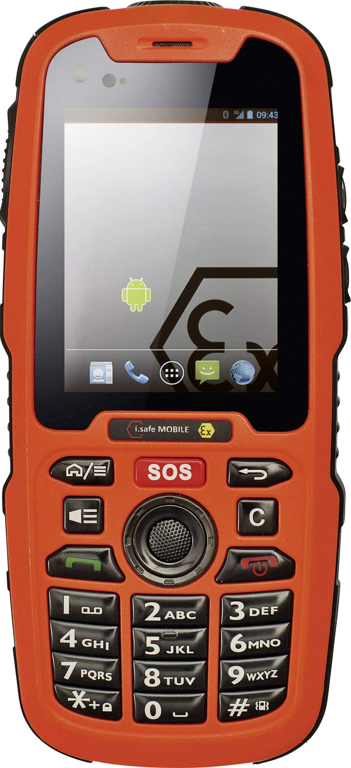 i.safe MOBILE IS320.1 Ex-geschütztes móvil Ex Zone 1, 21 6.1cm ...