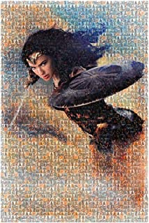 Wonder Woman Mosaic Poster - Size 24