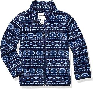 Amazon Essentials Boys Polar Fleece Full-Zip Jacket