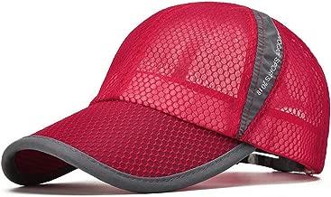 ELLEWIN Unisex Breathable Quick Dry Mesh Baseball Cap Sun Hat