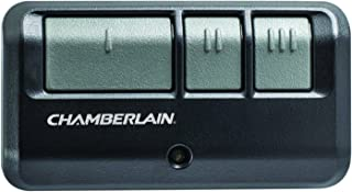 Chamberlain Group G953EV-P2 Chamberlain/LiftMaster/Craftsman 953EV-P2 3-Button, Security +2.0 Compatible, Includes Visor Clip Garage Door Opener Remote