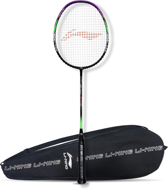 Li-Ning G-Force Superlite 3600 Carbon-Fiber Cheap bargain Trust Rac Strung Badminton