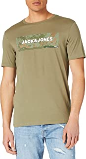 JACK & JONES Erkek Jcocampa Tee Ss FST tişört