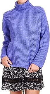 Silvian Heach Luxury Fashion Womens PGA19192LUVIOLET Purple Sweater | Fall Winter 19