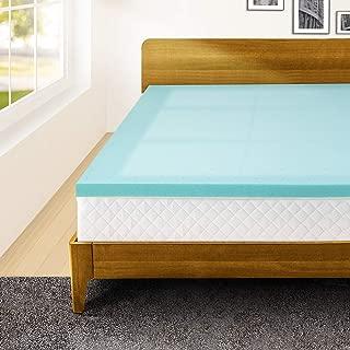 Memory Foam 3 Inch King Size Mattress Topper Bed Topper Gel Infused Foam Pad King Size