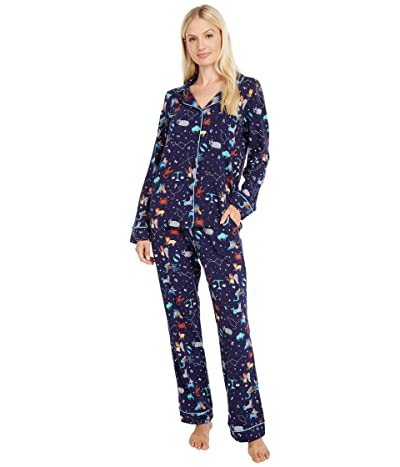 BedHead Pajamas Long Sleeve Classic Pajama Set (Zodiac) Women