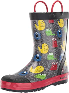 Kamik Kids' Monsters Rain Boot