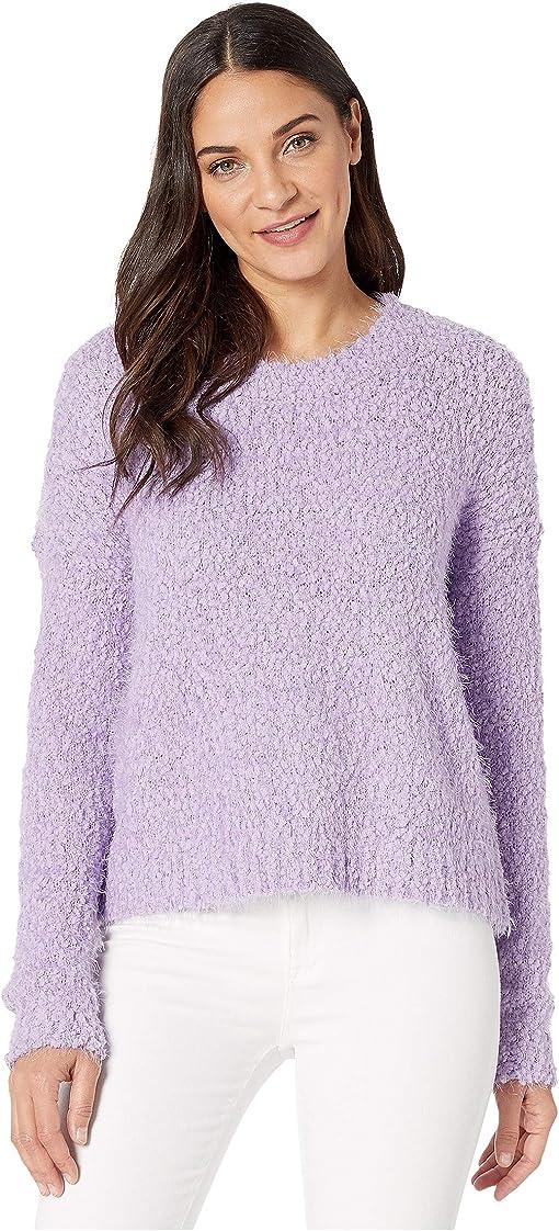 Lilac Knubby Knit