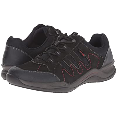 Rieker R5403 (Black Jura/Black Talamon/Black Airmesh) Women