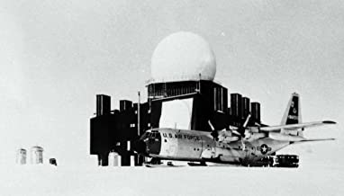 Home Comforts A Distant Early Warning Radar Installation in Greenland Supplied by a LC-130 Hercules Belonged to th Vivid Imagery Laminated Poster Print 24 x 36
