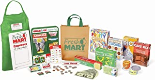 Melissa & Doug Fresh Mart Grocery Store Companion Collection (Play Sets & Kitchens, Great Gift for Girls and Boys - Best for 3, 4, 5 Year Olds and Up)