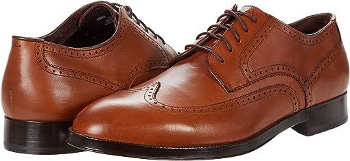 콜한 도슨 그랜드 옥스포드 슈즈 Cole Haan Dawson Grand 360 Wing Tip Oxford Wp,British Tan