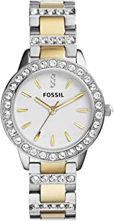 Fossil Women's Quartz Watch, Analog Display and Stainless Steel Strap Es2409