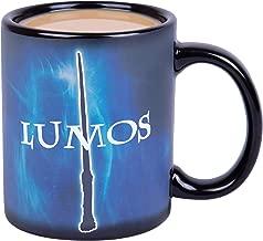 Harry Potter Lumos / Nox Heat Reveal Ceramic Coffee Mug - Magic Spells Activate with Heat!