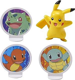 "Decopac Pokemon Light Up Pikachu Cake Kit Decoration Original Version, 2.7"" x 2.2"" x .95"",count of 4"