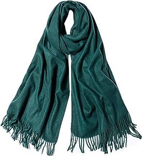 SOJOS Womens Large Cashmere Feel Pashmina Shawl Wraps Winter Blanket Scarf SC335