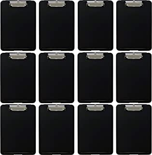 Trade Quest Slim Storage Clipboard (Pack of 12)