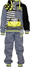 SKYLINEWEARS Kids Boys Sweatsuit Tracksuit Sweatshirt Sweatpant Hooded Two Piece Set