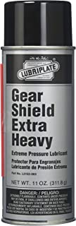 Lubriplate L0152-063 Gear Shield Series Black ISO-9001 Registered Quality System, ISO-21469 Compliant 40+ cSt Multi-Purpose Open Gear Grease, 11 oz (Pack of 12)