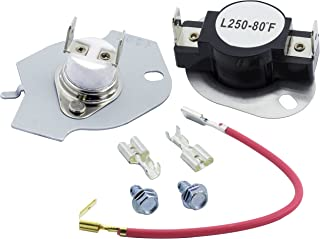 279816 Dryer Thermal Cut-off Kit Replacement Part by Blue Stars - Exact Fit for Whirlpool & Kenmore Dryers - Replaces 3399848 AP3094244