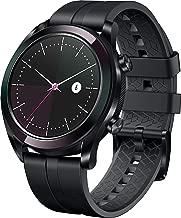 Huawei Watch GT Elegant Smartwatch (42 mm Amoled Touchscreen, GPS, Fitness Tracker, Herzfrequenzmessung, 5 ATM wasserdicht) Schwarz