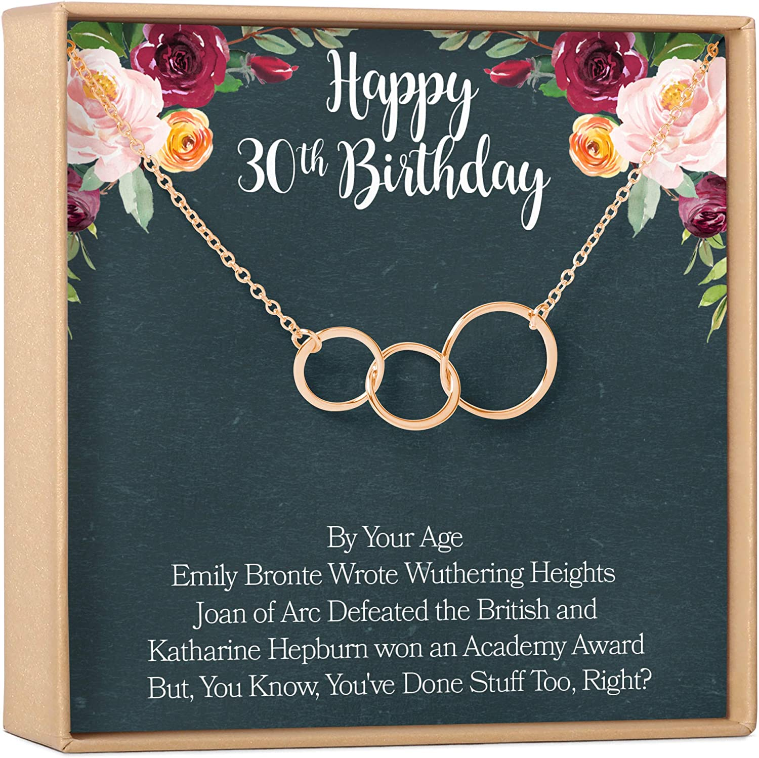 Dear Ava 30th Free shipping New Birthday Gift Gi Max 80% OFF Jewelry Necklace: Gifts