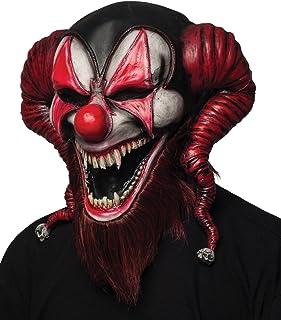 Morbid Enterprises Bearded Red Jester Mask