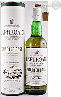 Laphroaig Quarter Cask Islay Single Malt Whisky  Glaskugelportionierer