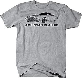 American Classic Thunderbird T-Bird Vintage Car Graphic T Shirt for Men