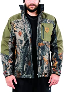 ARES SPORT Camo Jacket for Men Hunting Jacket Soft Shell Military Jacket with Camouflage