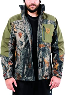 Camo Jacket For Men Camo Hunting Jacket, Mens Camo Jacket Soft Shell Military Tactical Jacket With Camouflage Outer Coat & Detachable Inner Jacket, Waterproof Winter Jacket For Outdoors And Camping