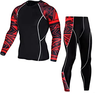 🌳sfe-Man Yoga Suit,Mens Pants,Gym Outfit Quick Dry Running Compression Tights, Basketball Pants Men