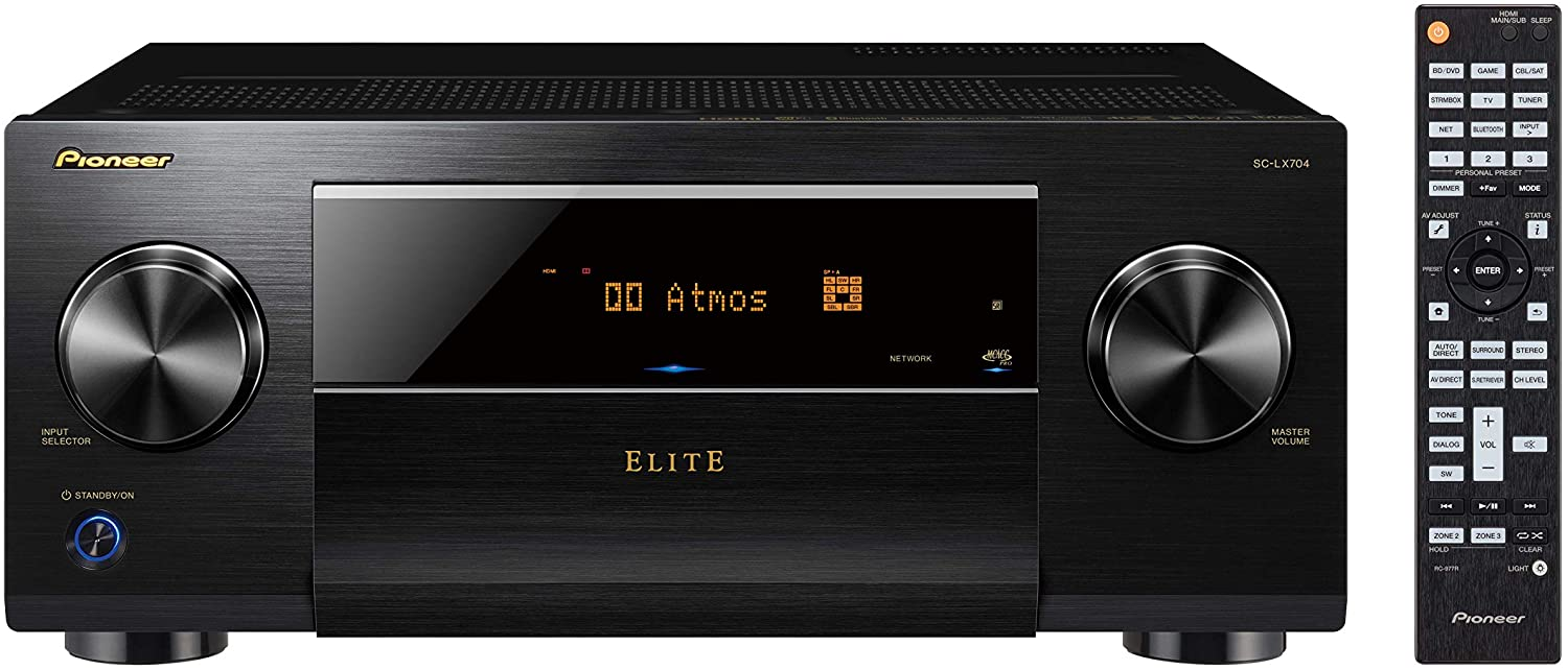 Pioneer National products Elite SC-LX704-9.2-Ch Network AV IMAX Receiver Enha Elegant with