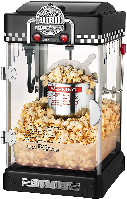 14. Table Top Little Retro Popcorn Popper
