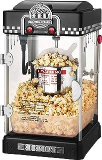 6072 Great Northern Black Little Bambino Table Top Retro Machine Popcorn Popper, 2.5oz
