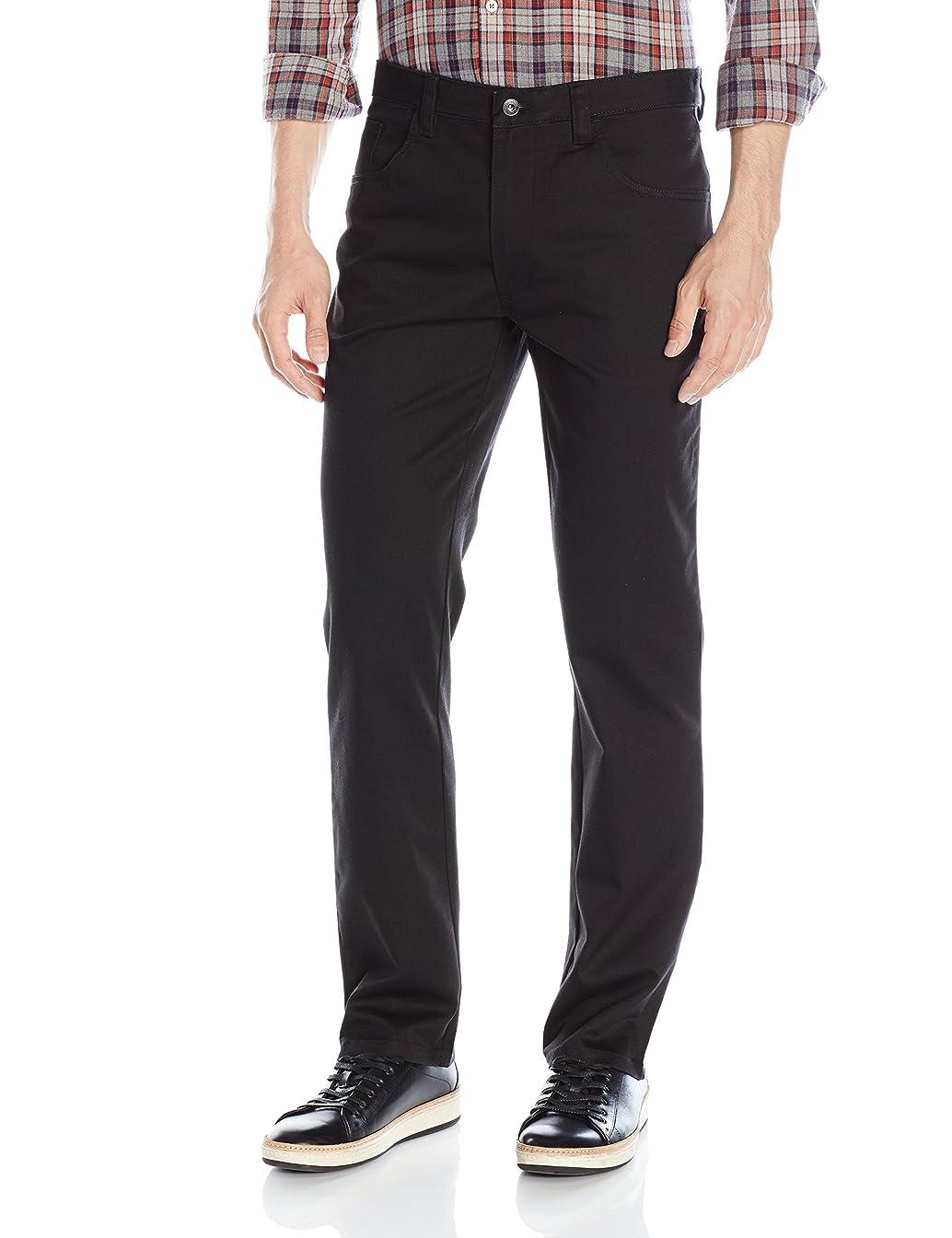 Van Heusen Men's Slim Fit Flex 5 Pocket Pant