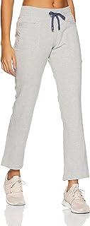 Jockey Women's Track Pants, Light Grey Melange