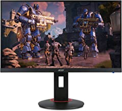 "Acer Gaming Monitor 27"" XF270H Abmidprzx 1920 x 1080 240Hz Refresh Rate AMD FREESYNC Technology (Display Port, HDMI & DVI Ports),Black"
