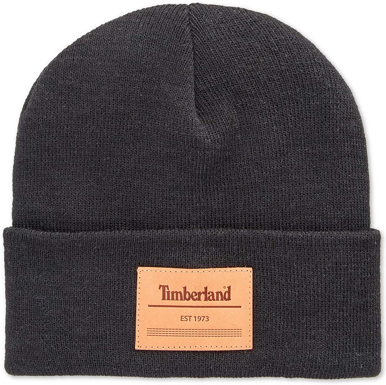 Timberland Men`s Heat Retention High order Cash special price Watch with Leath Cap Beanie Knit