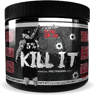 Rich Piana 5% Nutrition KILL IT Pre Workout (Fruit Punch) 12.17oz (345g) 30 Servings