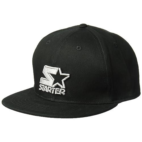 72a742e4ea9 Starter Men s Snap-Back Flat Brim Cap