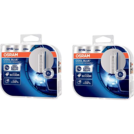 Osram 66140cbi Hcb Vs Xenarc Cool Blue Intense D1s Hid Xenon Brenner Entladungslampe 66140cbi Hcb 2x Duo Box Je 2 Lampen Set Of 2 Auto